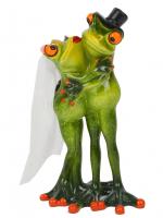 КYX99041 Фигурка декоративная лягушки 10*8,5*16,5 см (18)