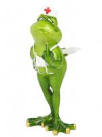 КYX89021 Фигурка декоративная лягушки 10*9,5*19см (16)